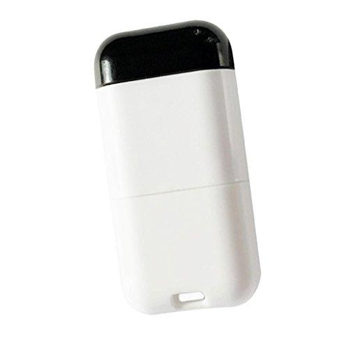 Ipotch smartphone android adattatore smart infrarossi telecomando senza fili per proiettore/luce/ventilatore - nero bianca tipo c