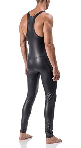 MANStore M510 Athletic Suit - black / schwarz Black / Schwarz