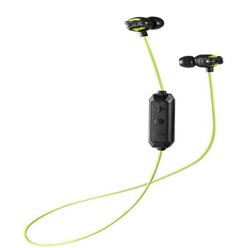 JVC HA-FX103BTGE Xtreme XPLOSIVES Bluetooth In-Ear Kopfhörer schwarz-grün -