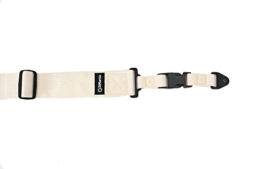 DiMarzio ClipLock Quick Release Guitar Strap, Cotton (Natural) 2200C (Natürlichen Count Thread)