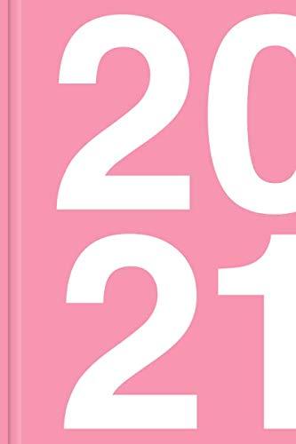 Taschenkalender 2020 / 2021 - Wochenkalender und Planer für zwei Jahre, rosa: Kalender in pink, Taschenplaner als Geschenk für Frauen und Mädchen, 24 Monate