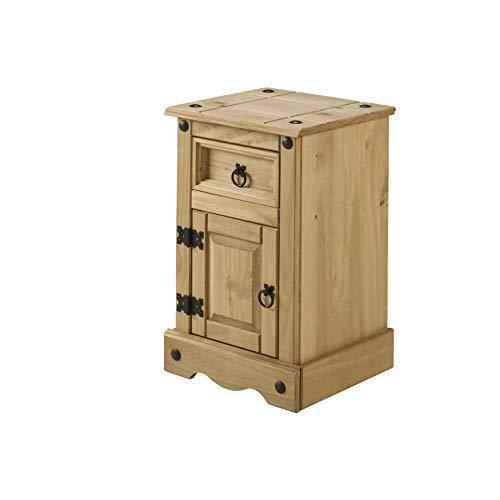 Mercers Furniture Corona Armoire Pot étroit, Bois, pin