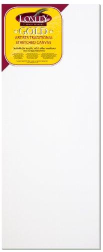 Loxley Gold LCM-4016 - Lienzo preestirado, Color Blanco