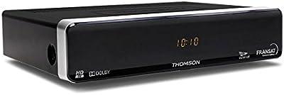 Thomson THS 805 - Receptor (Mpeg4 HD, USB), color negro