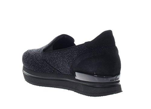 Hogan Donna Pantofola HXW2220T670H1KB999 H222 Pantofola Nero