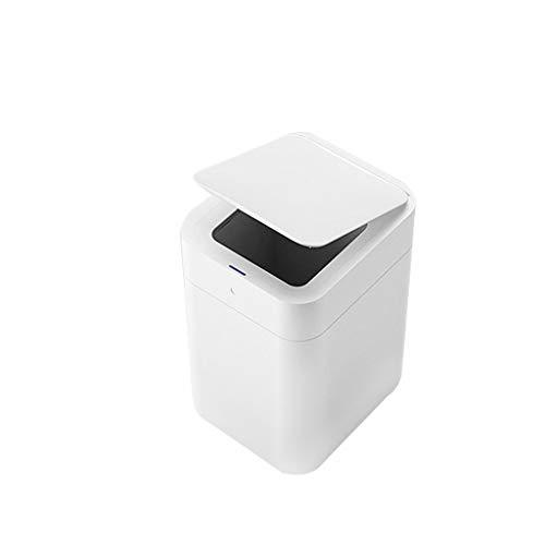 Zlw-shop Secchi per la spazzatura Smart Trash Can Home Induction Trash Can Bagno Cucina Soggiorno Camera Grande Cestino