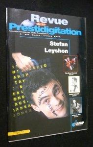 Revue de la prestidigitation, n° 528, mars-avril 2002 : Stefan Leyshon par Collectif