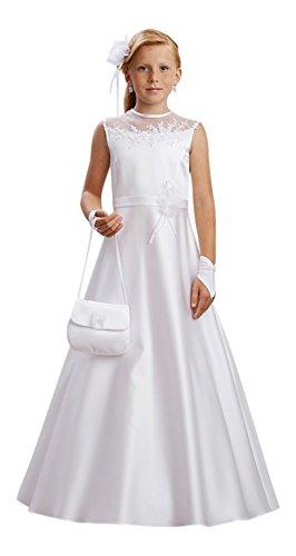 Linda Kommunionkleid Kleid Kommunion Kommunionskleid, weiß, 134