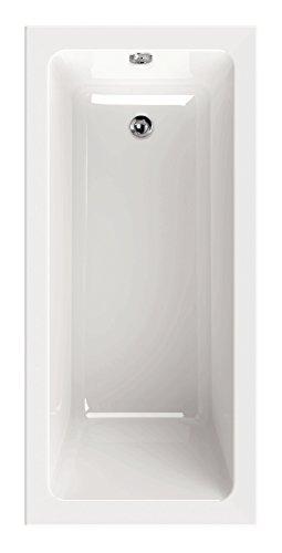 AquaSu 80162 1 Acryl linHa, 150 x 70 cm, Weiß, Wanne, Badewanne, Bad, Badezimmer