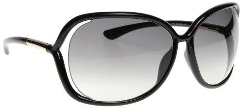 Tom Ford Für Frau 0076 Raquel Black / Grey Gradient Kunststoffgestell Sonnenbrillen