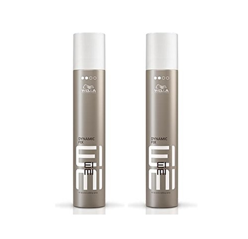 Wella 2x EIMI Dynamic Fix 45 Seconds Styler Modellier Spray 75 Ml