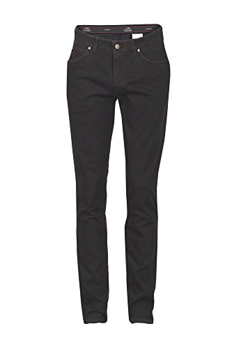 Club of Comfort - Herren Five Pocket Jeans in verschiedenen Farben, James (4631) Schwarz (10)