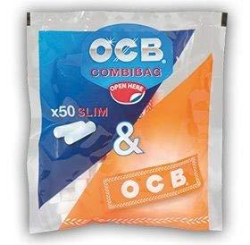 *ocb combibag filtri 6 mm + cartina arancione - 20 buste