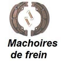 Paire de Machoires pour Tambour ARRIERE pour HYOSUNG- 125- XRX 125- 2003