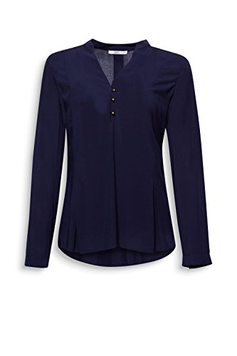 edc by Esprit, Camicia Donna Blu (Navy 400)