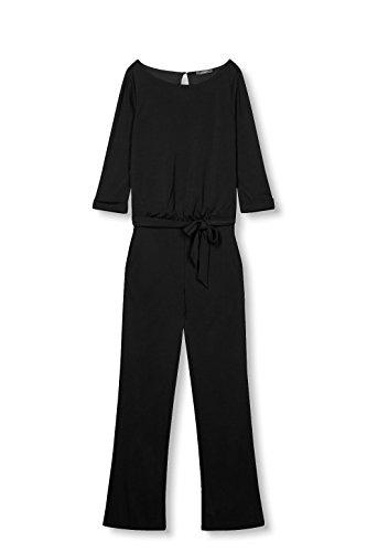 ESPRIT Collection Damen Jumpsuits 017EO1L001, Schwarz (Black 001), 38 (Herstellergröße: M) - 3