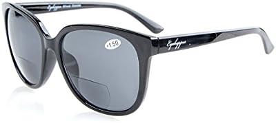 Eyekepper Gafas de Sol Bifocales de talla grande Para Mujer