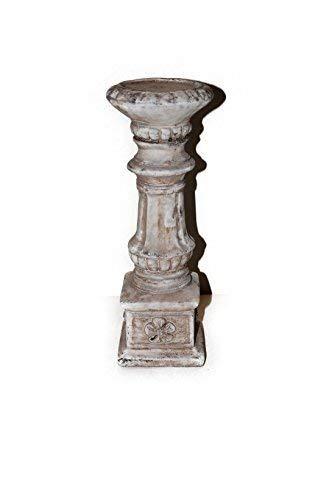 Landhaus Gelldorf Kerzenständer, Zement, Tischdeko, Kerzenhalter, Fensterdeko