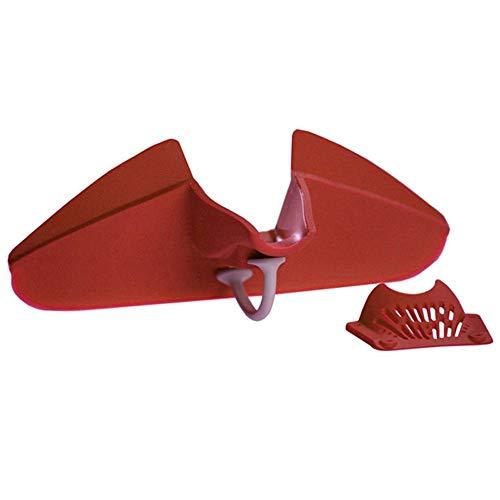Forviupet Silikon-Trichter für die Küche, langlebig, kreativ, Silikon-Auslauf, Trichter, Trichter, Seiher, Seiher, Silicagel, Ausgießer, Topf, Backen