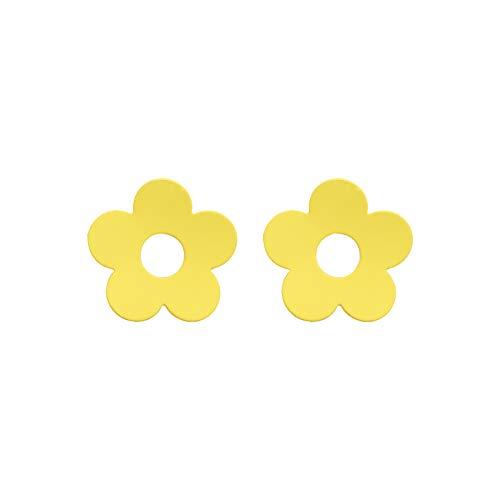 Ya Ya Wind Farbe Nebel Textur Spaß kleine Blume Ohrringe weibliche koreanische süße hundert Satz von Ohrnägeln - Textur-nebel