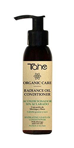 Tahe, 12049019, Radiance Conditioner Acondicionador Hidratante y Desenredante sin Aclarado para Cabellos Gruesos y Secos, 100 ml