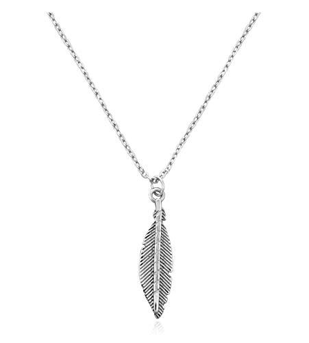 SOFIA MILANI Damen Halskette Flügel Anhänger Silber 50206