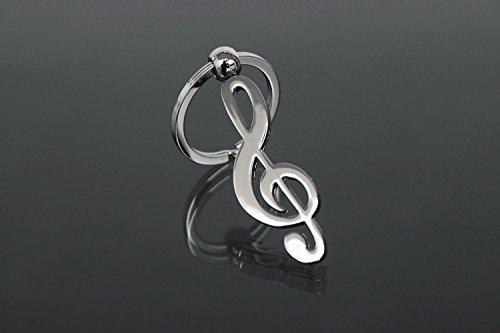 Bomboniera portachiave portachiavi note musicali chiave di violino idea regalo