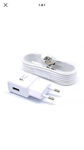 Original Weiß 2000 mAh ( 2 Amp ) Samsung Micro USB 2 Pin Netzladegerät an Bulk Verpackung Geeignet für Samsung Galaxy Tab S2 9.7, Galaxy Tab S2 8.0 Original Galaxy Tab 2 Ladegeräte