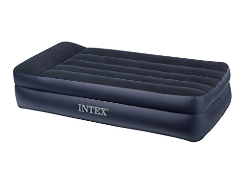 Intex 66706 Lit Gonflable 1 Place Large Electrique 220 volts 99 x 191 x 42 cm