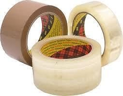 Best Price 3M Scotch Packing Tape – Colour: Clear – Size: 48mm x 66m – Amount: 144 rolls Special