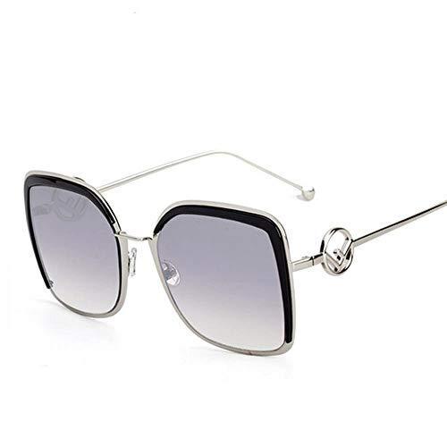 ZHOUYF Sonnenbrille Fahrerbrille Lady Cat Eye Sonnenbrille Weibliche Sonnenbrille Weibliche Retro-Farbe Brille, C4