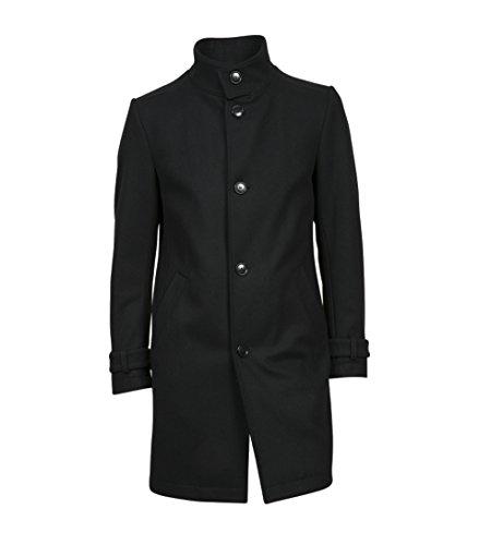 drykorn herren mantel Drykorn Herren Wollmantel Onnex in Schwarz 1000 Black 98