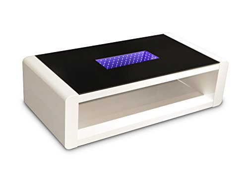 Cavadore-Couchtisch-Hutch-moderner-niedriger-Tisch-mit-schwarzem-Glas-und-LED-Beleuchtung-mit-Ablage-Hochglanz-Wei-120-x-60-x-35-cm-L-x-B-x-H