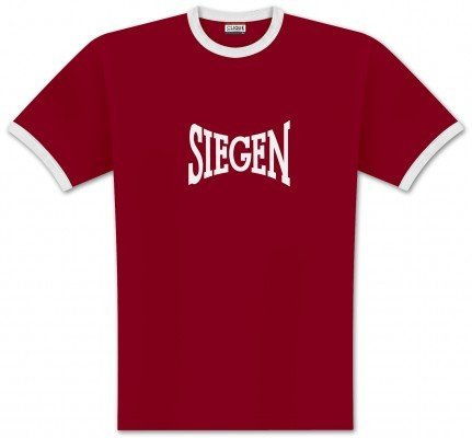 World of Football Ringer T-Shirt lons Siegen - XL
