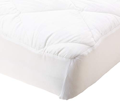 100 Pct Baumwolle (PCT T300100% Baumwolle, quadratisch, Dobby Matratze Pad Full, weiß)
