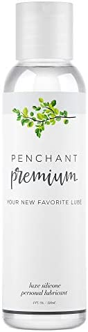 Intimate Lubricants for Sensitive Skin by Penchant Premium - Silicone Based, Discreet Label - Best Personal Lube for Women a