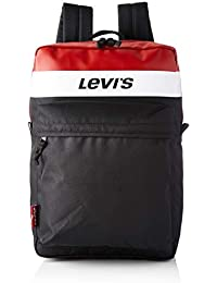 LEVIS FOOTWEAR AND ACCESSORIES The Levi's® L Pack Standard Issue Colorblock - Uomo, Nero (Noir), 13x26x41 cm (W x H L)