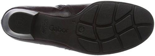 Gabor Shoes 55.634 Damen Kurzschaft Stiefel Rot (wine (Effekt) 25)