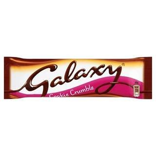 GALAXY Cookie Crumble 40G x Case of 24