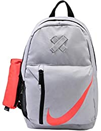 9e9198bef45f ... Backpacks   School Bags   Nike. Nike 25 Ltrs Wolf Grey Black Rush Coral  School Backpack (BA5405-012