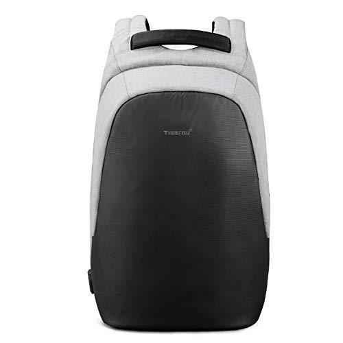 Sac à dos pour ordinateur portable, sac à dos pour entreprise professionnelle avec port de chargement USB, sac à dos pour ordinateur portable, sac étanche pour homme, ordinateur portable 15,6 pouc