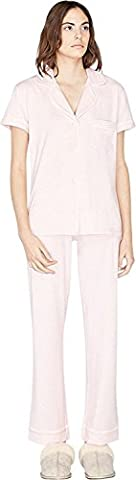 UGG Australia Women's Reece Pajama Set (Petal Heather,Small)