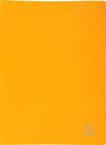 exacompta-30-pocket-display-book-yellow
