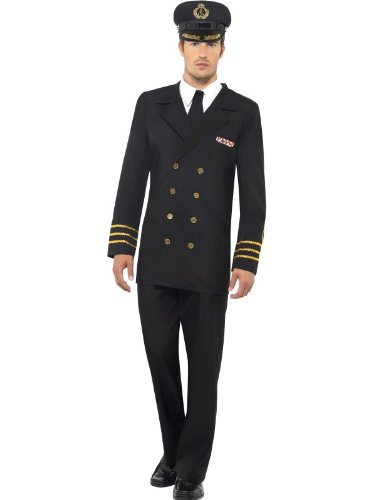 - Navy Piloten Uniform Kostüm