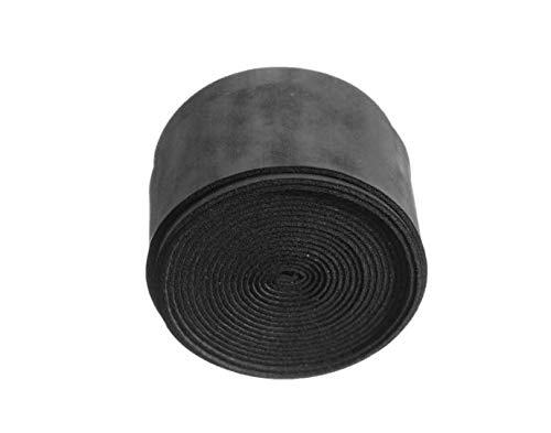 ChaRLes 25 × 1100 × 0,75 mm Anti-Slip-Tennis Schläger Griff Bänder Badminton Schläger Griff Band Squash-Band - Schwarz