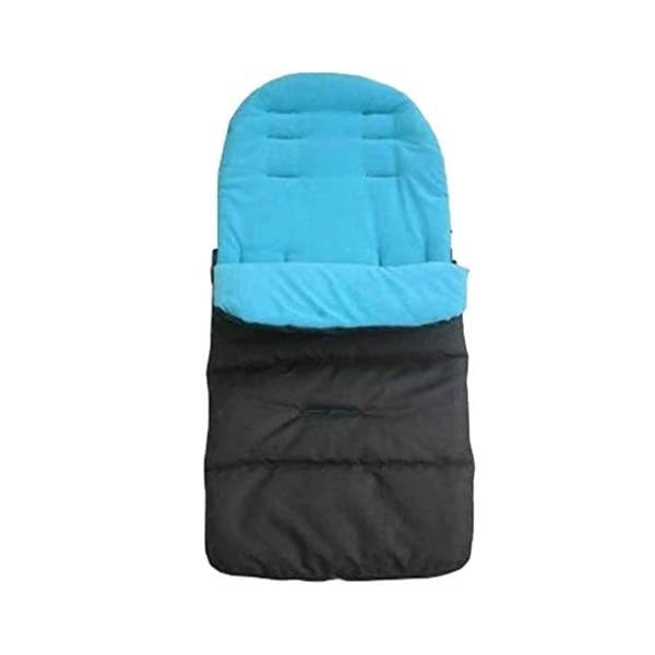 DENGHENG Multi-Function Baby Stroller Sleeping Bag Children Kids Trolley Thickened Swaddl DENGHENG ❤ Baby carriage sleeping bag, Multi-functional universal stroller sleeping bag. ❤ Made of high quality oxford and fleece, it is warm, windproof and waterproof. ❤ Removable, easy to clean, adjustable, adjust the position according to your baby's length. 1