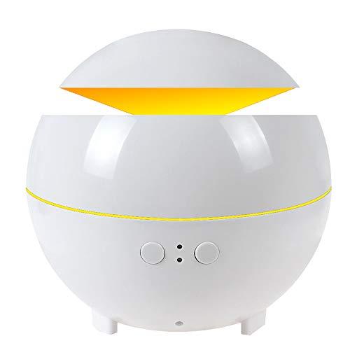 HUIHUAN Humidificador Aceite esencial Difusor 600 ml Humidificadores de niebla Máquina de aromaterapia...