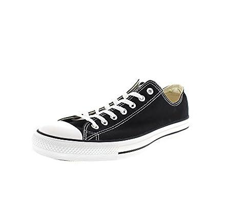CONVERSE Chuck Taylor All Star Seasonal Ox, Unisex-Erwachsene Sneakers, Schwarz (Black), 41.5 EU