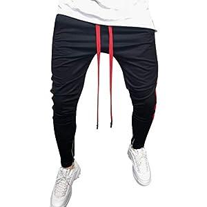 Rcool Herren Hose Cargo Jogging Pants Jeanshose Sport Hosen Slim Fit Freizeithose