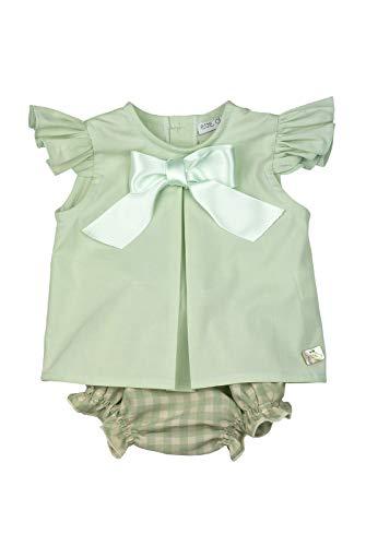 EVE CHILDREN - Conjunto bebé Verano Blusa Verde Pastel